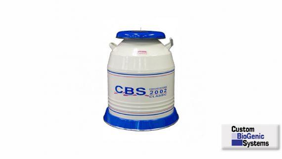 2002 Classic Cryosystem Dewar<br>Sistema de almacenamiento en Nitrógeno liquido<br>CAT. CB202R