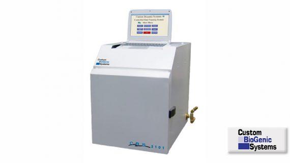 2101 Controlled Rate Freezing System<br>Sistema de enfríamiento controlado<br>CAT. 2101