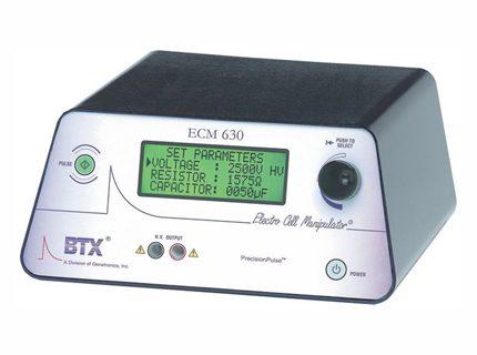 ECM 630<br>Sistema de electroporación<br>CAT. 450001