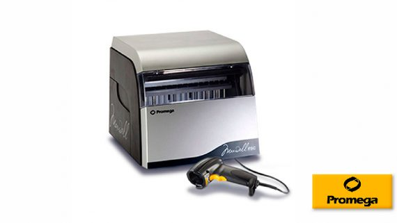 Maxwell® FSC<br>Sistema automatizado de purificación de ácidos nucleicos para uso forense<br>CAT. AS4600