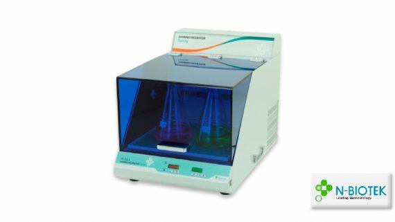 Cooling Shaking Incubator NB-205LF<br>Incubador con refrigeración y agitación<br>CAT. NB-205LF